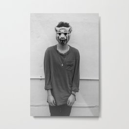 Spectacle Metal Print