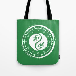 Cancer Yin Yang Fourth Zodiac Sign Tote Bag