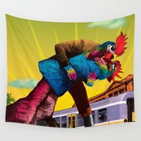 passion Wall Tapestries featuring Passion by Pierre-Paul Pariseau