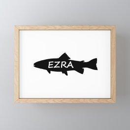 Ezra Fish Framed Mini Art Print