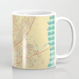 Mumbai Map Retro Coffee Mug