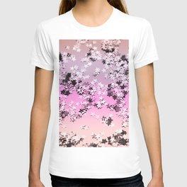 Unicorn Girls Glitter Stars #8 #shiny #decor #art #society6 T-shirt