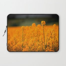 Orange Rapeseed Laptop Sleeve