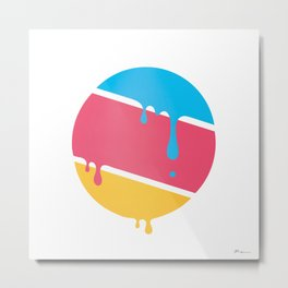 PLANET DROOLE#BYP Metal Print