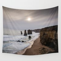 melbourne Wall Tapestries featuring Twelve Apostles by Michelle McConnell