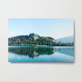 European alps - Lake Bled at 5.30 AM Metal Print