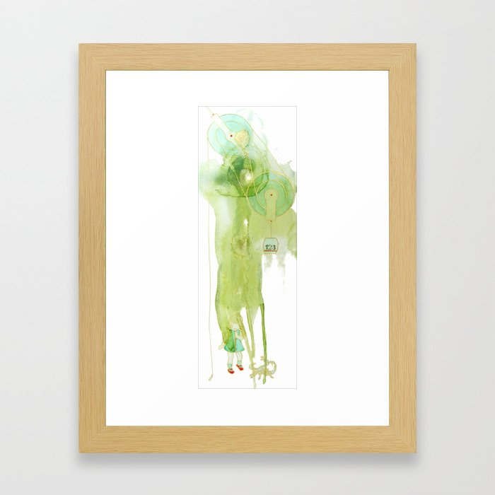 Help is Near Framed Art Print