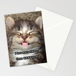 Happy Kitten Stationery Cards
