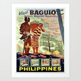 Vintage poster - Philippines Kunstdrucke