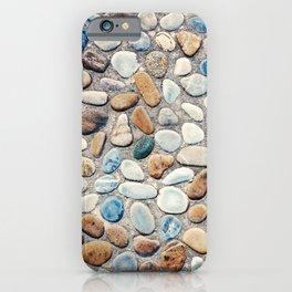 Pebble Rock Flooring V iPhone Case