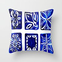 morocco Throw Pillows featuring Morocco by Patti Friday