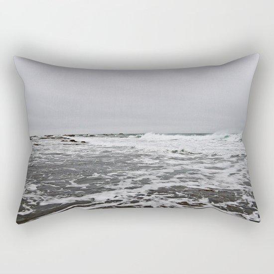 After the Wave Rectangular Pillow