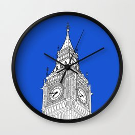 London Big Ben - Line Art Wall Clock