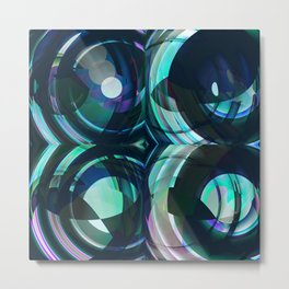 Daily Design 30 - Something New in the Fishtank Metal Print