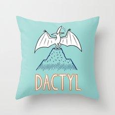 DACTYL Throw Pillow