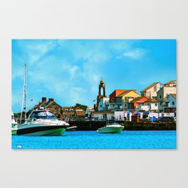 Swanage Sea View Canvas Print