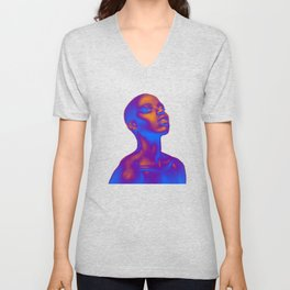 Colored Summer Unisex V-Neck
