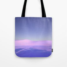 Purple Beach Tote Bag