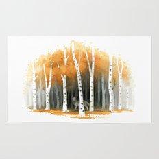 Autumn Wolf Rug
