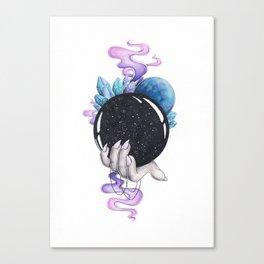 Full of Magic Crystal Ball Canvas Print