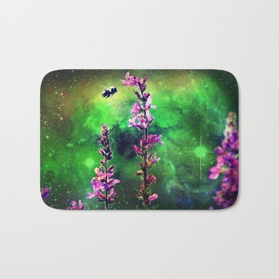 Bee Against The World Bath Mat
