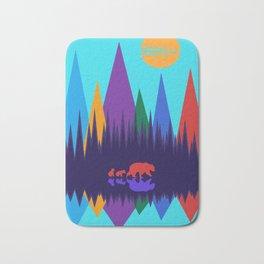 Bear & Cubs #3 Bath Mat