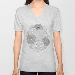 Circles Unisex V-Neck