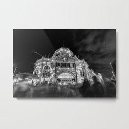 Magical (Flinders x Swanston Street, 2014) Metal Print