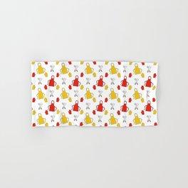 Apron - BBQ Doodle Pattern Hand & Bath Towel