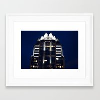 austin Framed Art Prints featuring Austin by stawickiphoto