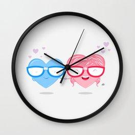 Nerd Love #1 Wall Clock
