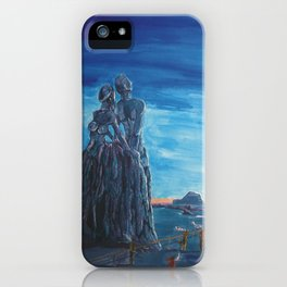 Emotional fossiles iPhone Case