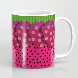 """""""Spring and summer strawberries paper"""" Coffee Mug"""