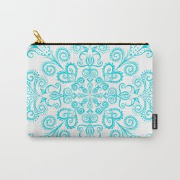 Snow flowers. Carry-All Pouch