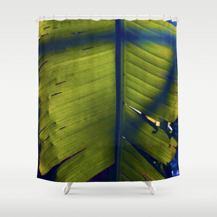 Palm Leaf Shower Curtain