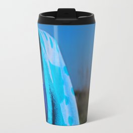 Beach Day- horizontal Travel Mug
