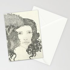 Graphite Trees Stationery Cards