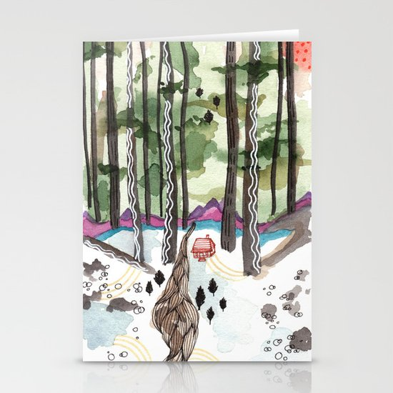 Bagby Trail Stationery Cards