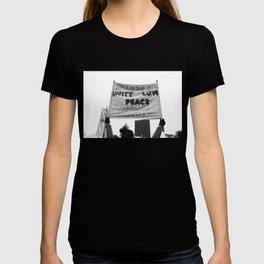 unity, love, peace T-shirt