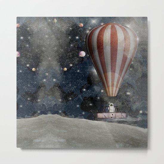 a space adventure Metal Print