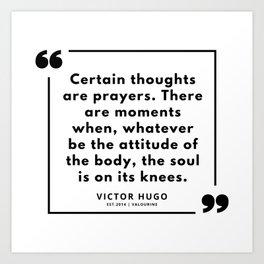 19  | Victor Hugo Quotes | 190830 Art Print