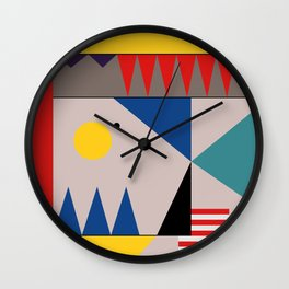 LANDSCAPES FROM THE PAST Wall Clock