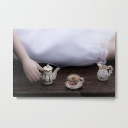 Alice's Escapades ~ Alice & The Tea Party Metal Print