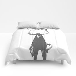 minima - beta bunny pose Comforters