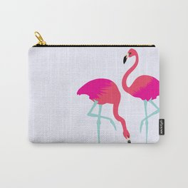 Flamingo(s) Carry-All Pouch