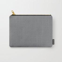 Best Seller Medium Gray Solid Color Pairs Dunn & Edwards 2019 Trending Colors Storm Cloud DE6362 Carry-All Pouch