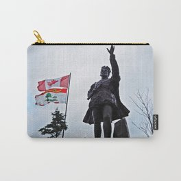 Statue Silhouette in PEI Carry-All Pouch