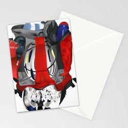 Triathlon competitor ironman Stationery Cards