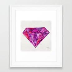 Rhodolite Framed Art Print