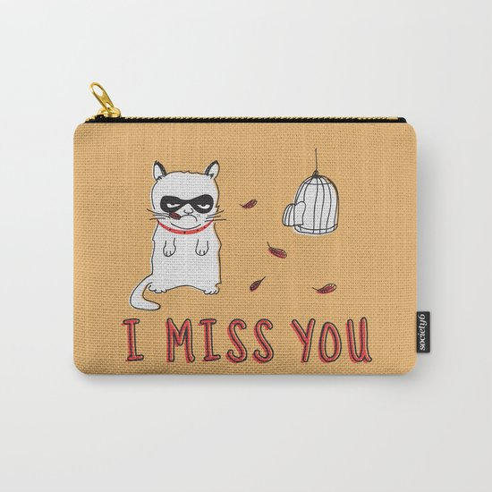 I Miss You Carry-All Pouch